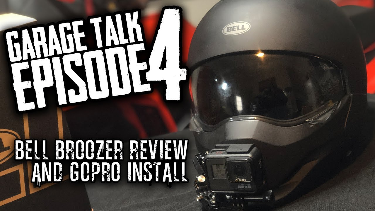 Garage Talk Episode 4 | Bell Helmet Review How to Mount GoPro to Helmet
